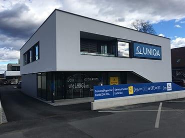 Büro- und Geschäftshaus in Gralla, Neubau Bürogebäude, Elektroplanung, Installationstechnik, Netzwerktechnik