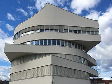 Büro- und Geschäftshaus, Neubau Bürogebäude in Leibnitz, Elektroinstallation, Netzwerktechnik und KNX-Steuerung