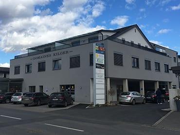 Neubau Bürogebäude mit moderner Lichttechnk und Netzwerktechnik in Kaindorf