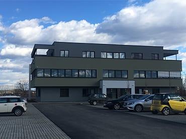Büro- und Geschäftshaus in Tillmitsch, Neubau, Elektroplanung, Elektroinstallation