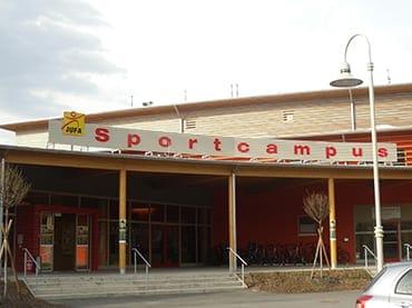 Sportcampus Leibnitz, Hotel und Gastronomie, Neubau Hotel, KNW-Steuerung, Lichttechnik, Elektriker Leibnitz