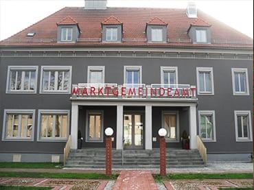 Marktgemeinde Kaindorf, öffentliche Gebäude, Sanierung Bürogebäude, KNX-Steuerung, Brandmeldetechnik, Anlagenprüfung